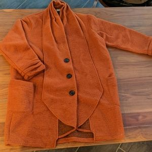 VINTAGE La Fille du Couturier Paris wool coat